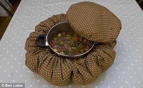 Wonderbag. La bolsa aislante que cocina alimentos.