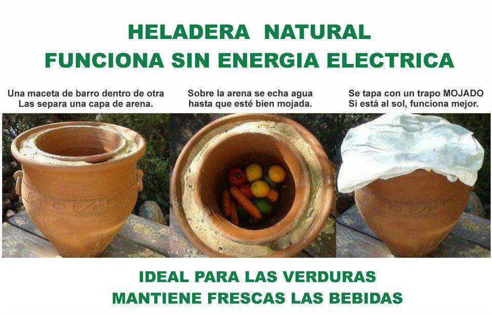 Heladera natural