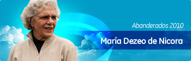 María Dezeo de Nicora - Creó Fundación Emmanuel: Fortalecimiento y Acogimiento familiar La Plata y Ciudad Buenos Aires