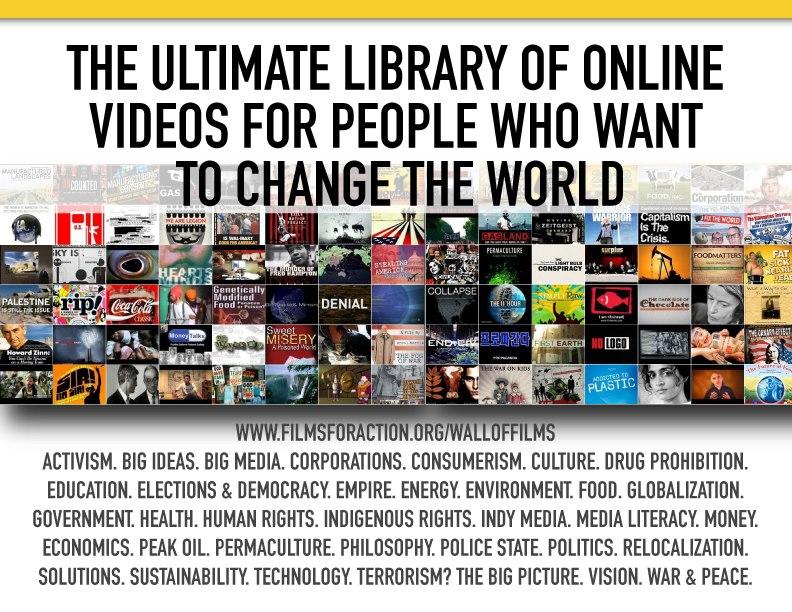 Documentales de cambio social y cortometrajes libre para ver online