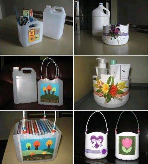 Bidones reciclados
