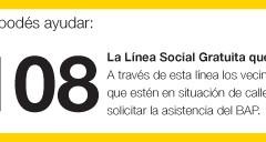 Línea 108 - Atención Social Inmediata