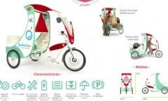 Presentan en Bahía Blanca un carro móvil eléctrico para cartoneros