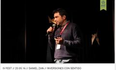 IV FEST // 20.05.16 // DANIEL ZAN // INVERSIONES CON SENTIDO